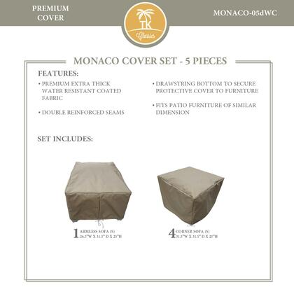 MONACO-05dWC Protective Cover Set  for MONACO-05d in