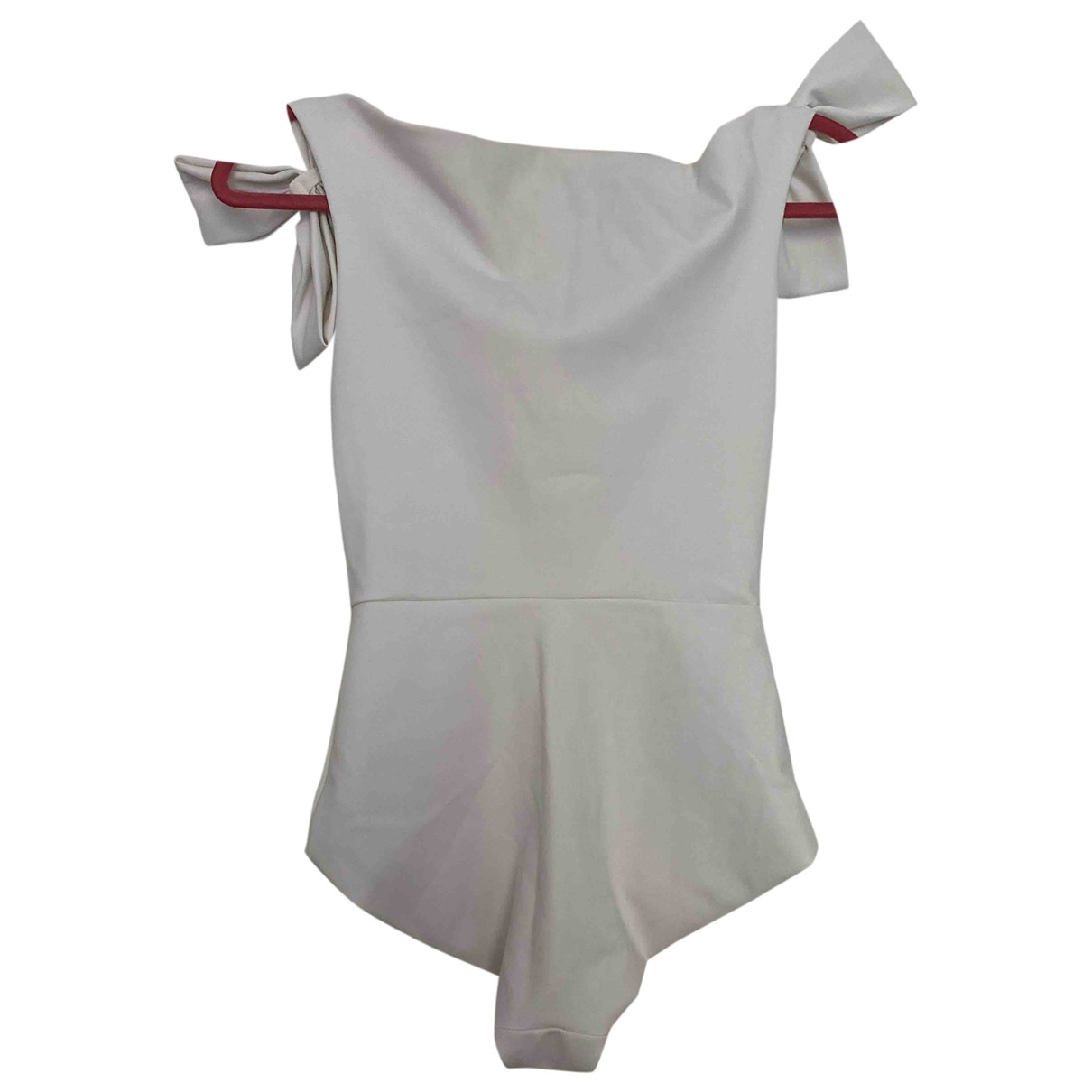 Chiara Boni \N Badeanzug in  Weiss Polyester