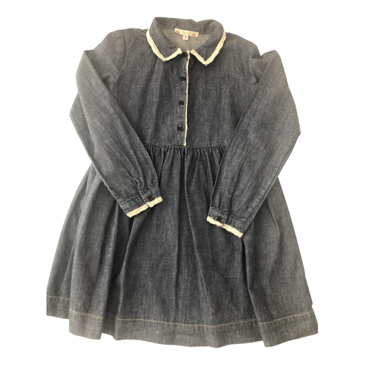 Bonpoint \N Blue Denim - Jeans dress for Kids 8 years - up to 128cm FR
