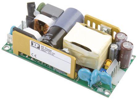 XP Power , 130W AC-DC Converter, 24V dc, Open Frame, Medical Approved