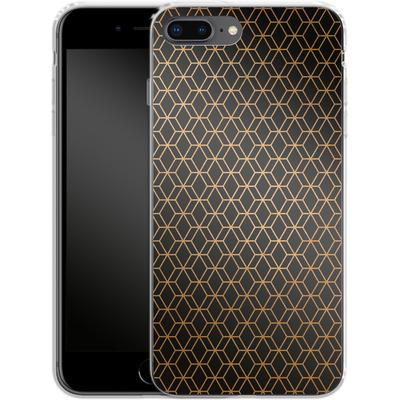 Apple iPhone 7 Plus Silikon Handyhuelle - Night Pattern von #basic