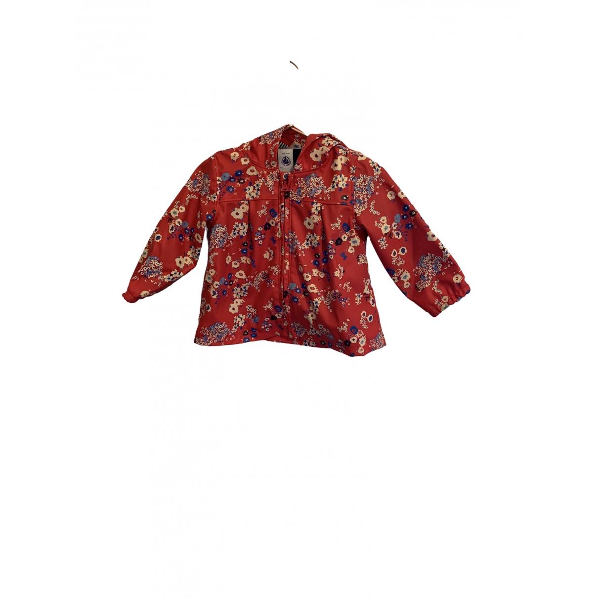 Petit Bateau - Blousons.Manteaux   pour enfant - rouge