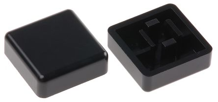 APEM Blk sq cap for keyboard switch,12x12mm (10)