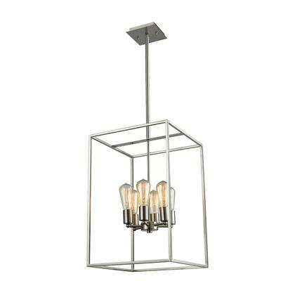 Cn15862 Williamsport 6 Light Chandelier In Oil Brushed