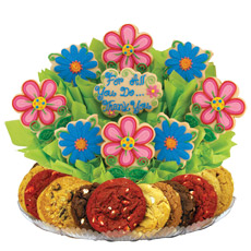 Blossoms Thank You Cookie BouTray™