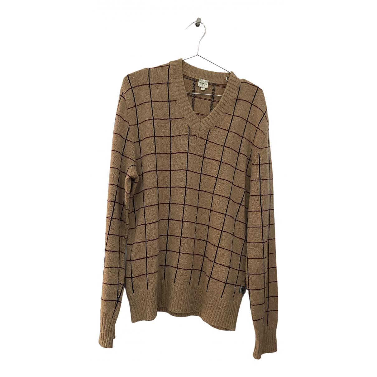 Calvin Klein \N Pullover.Westen.Sweatshirts  in  Bunt Wolle