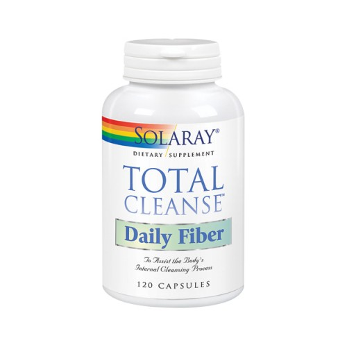 Total Cleanse Daily Fiber 120 Caps by Solaray