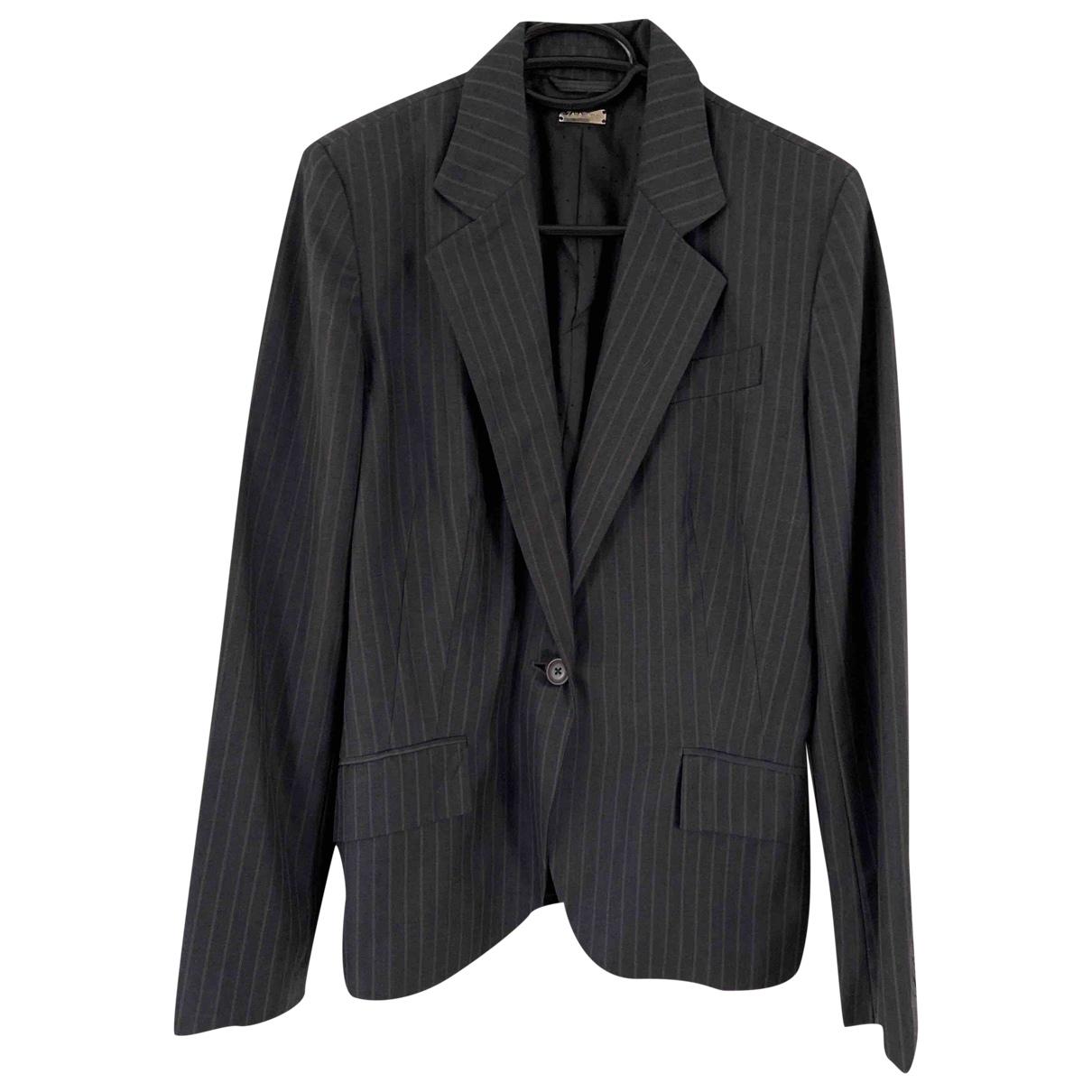 Zara \N Brown Cotton coat for Women 38 FR