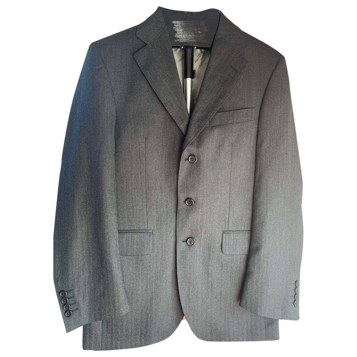 Aquascutum - Vestes.Blousons   pour homme en laine - gris