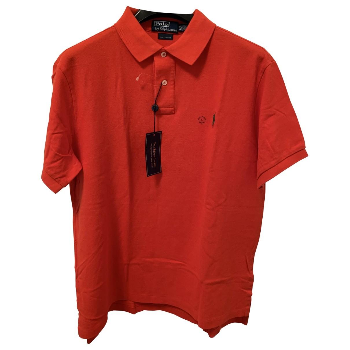 Polo Ralph Lauren - Polos Polo classique manches courtes pour homme en coton - rouge