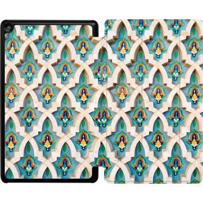 Amazon Fire HD 8 (2018) Tablet Smart Case - Moroccan Mosaic von Omid Scheybani
