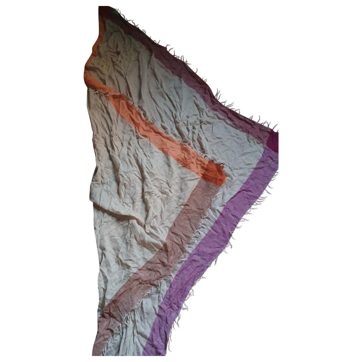Giorgio Passigatti \N Beige Wool scarf for Women \N