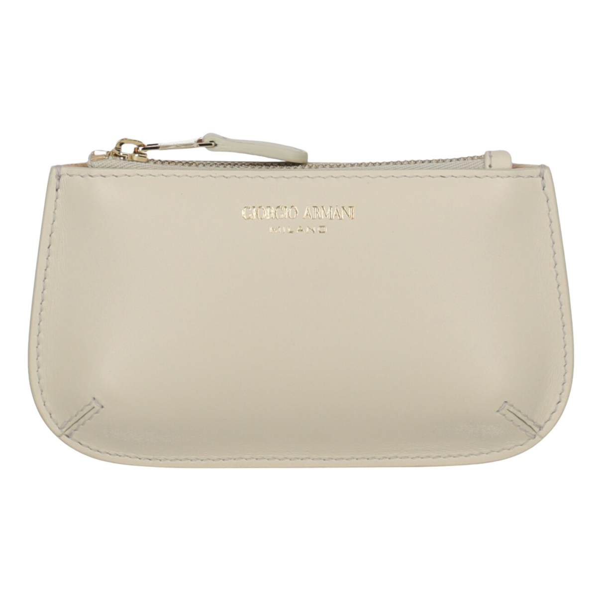 Giorgio Armani N White Leather wallet for Women N