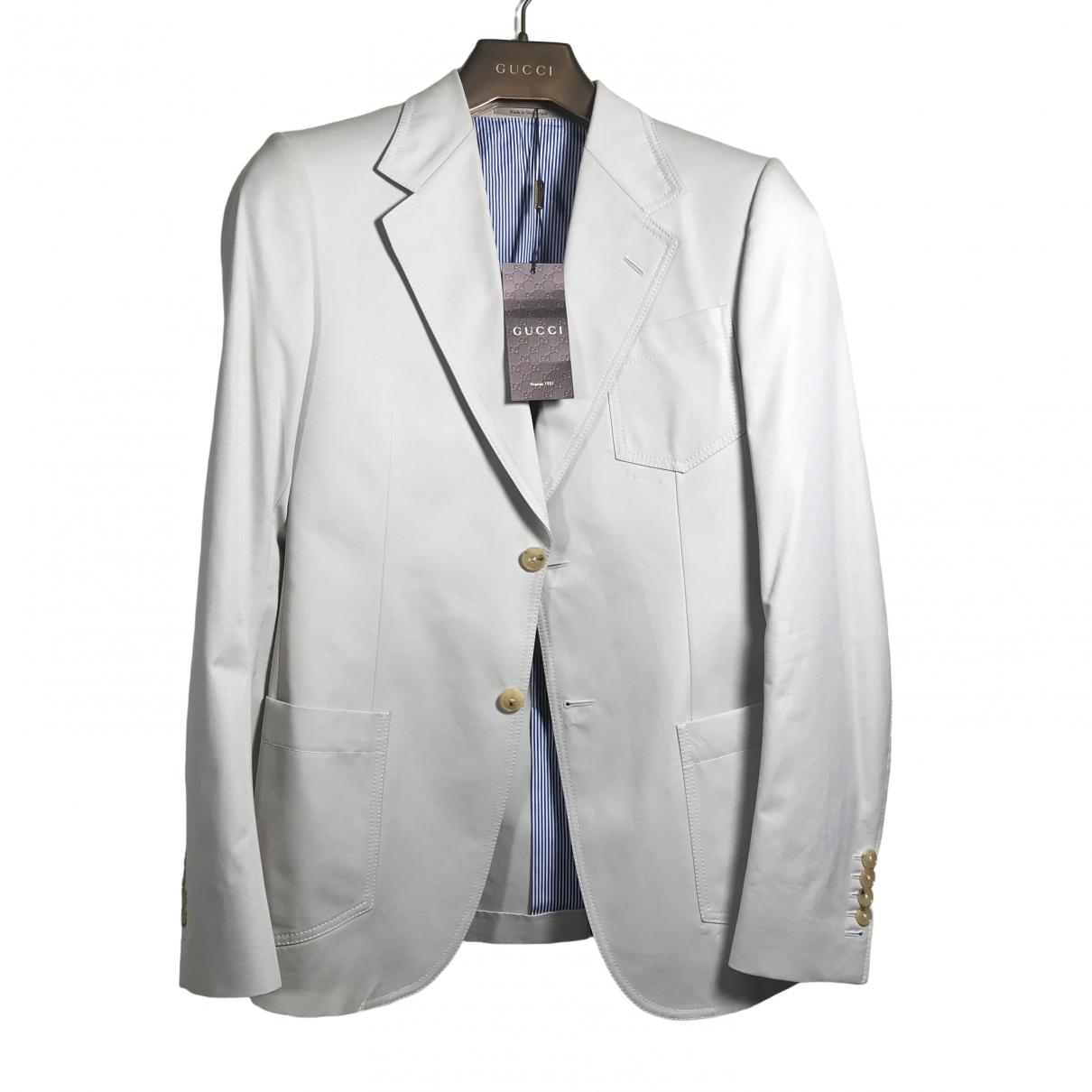 Gucci - Vestes.Blousons   pour homme en coton - beige