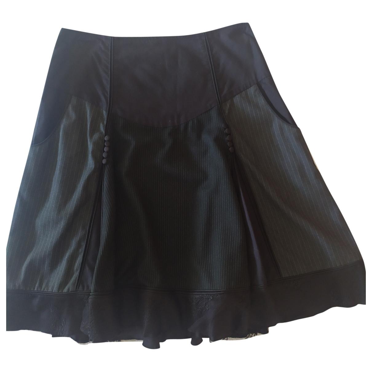 Jean Paul Gaultier - Jupe   pour femme en coton - noir