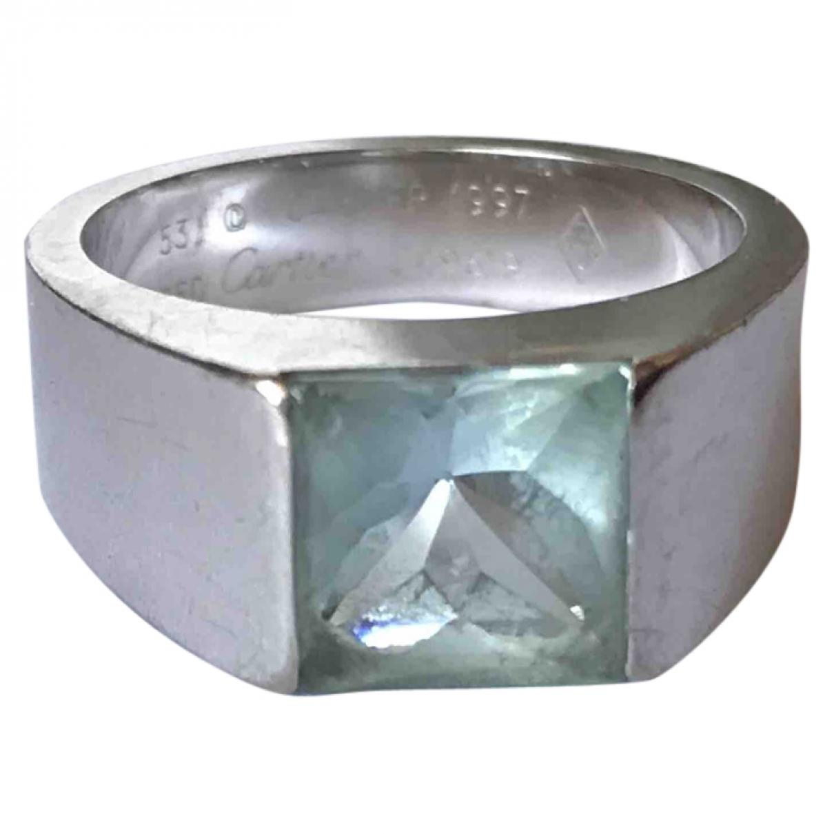 Cartier Tank Ring in  Silber Weissgold