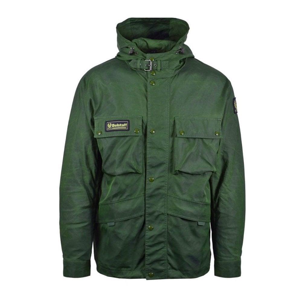 Belstaff Parka Jacket Size: MEDIUM, Colour: GREEN