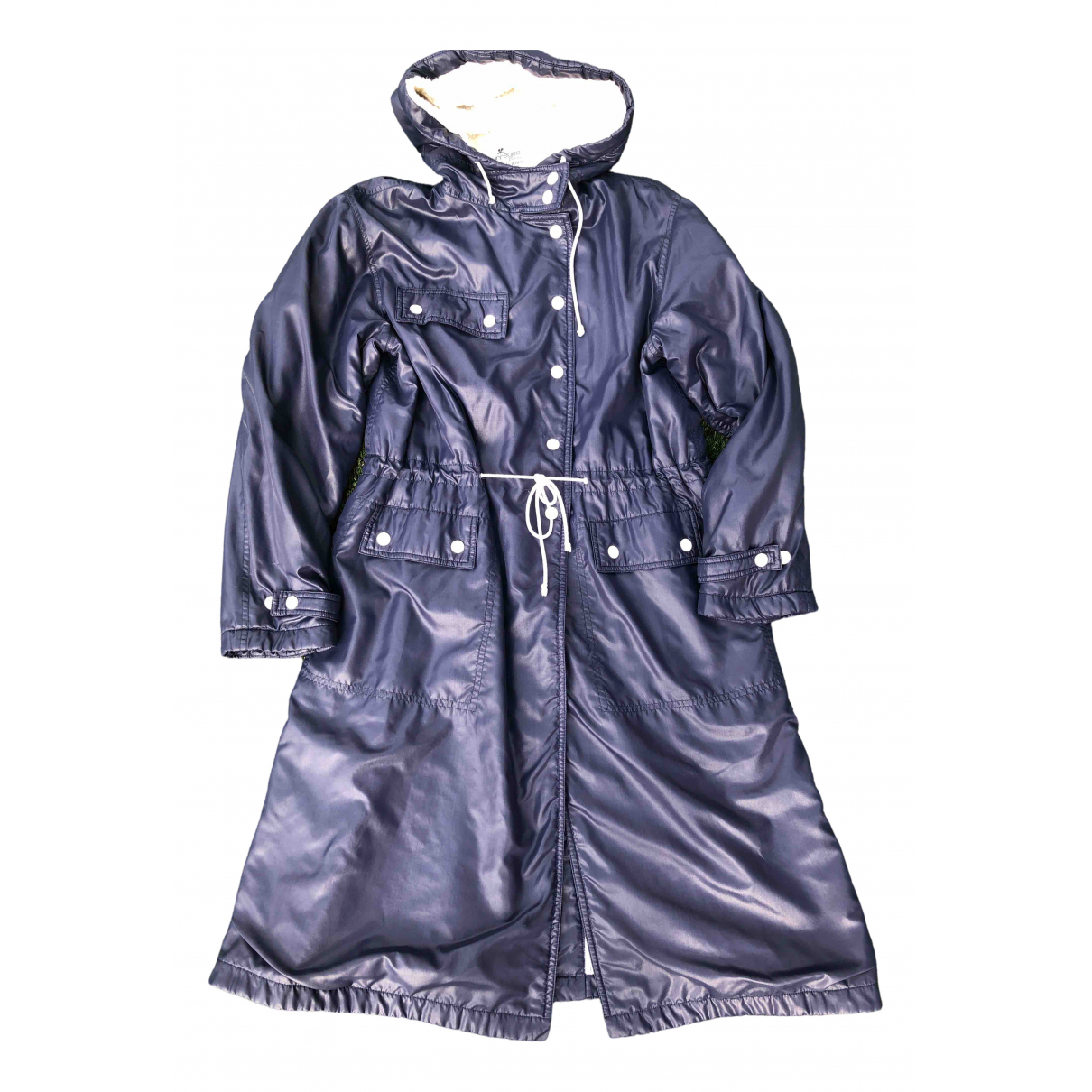 Courrèges \N Navy coat for Women 40 FR