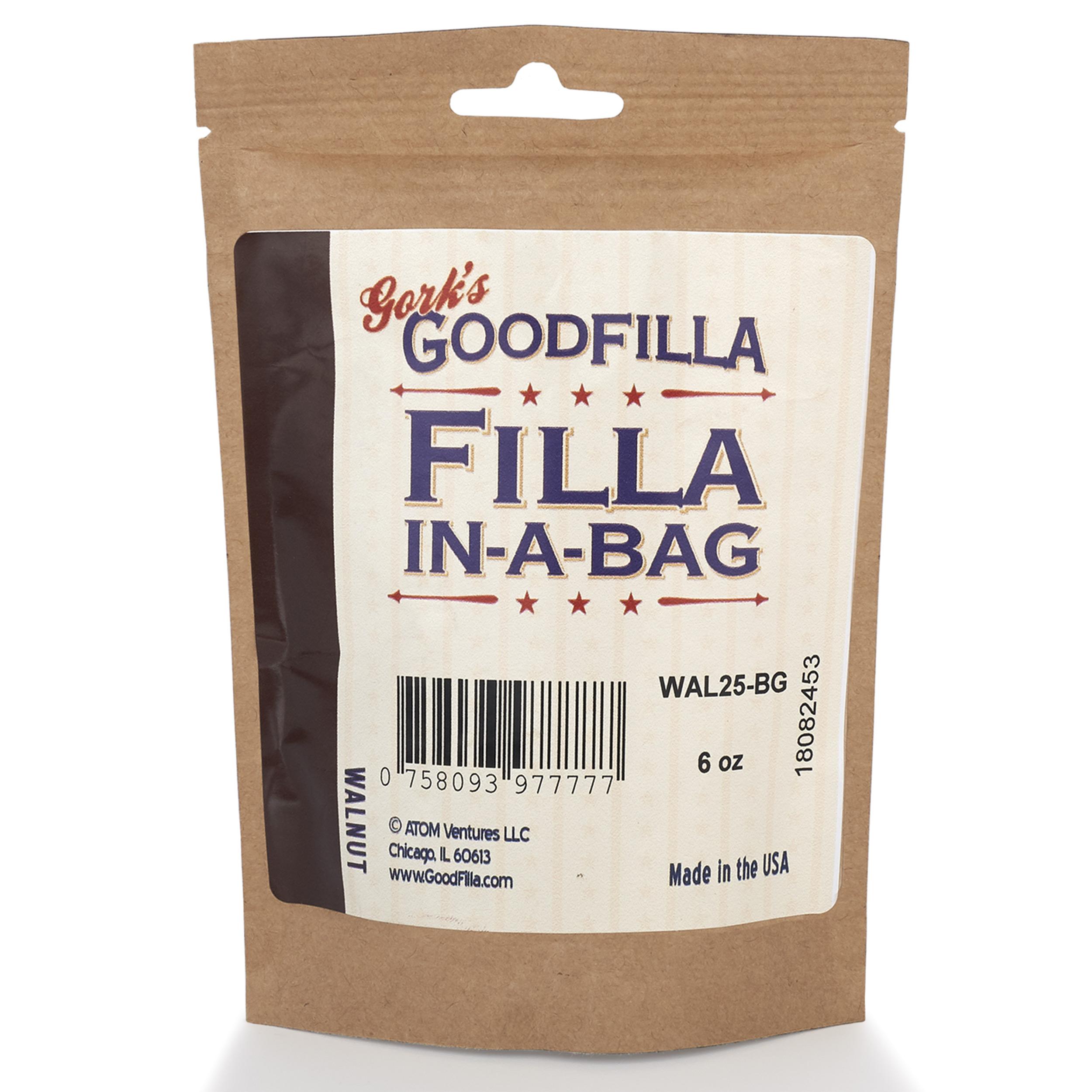 Walnut Water Based Wood Grain Filler 6 oz