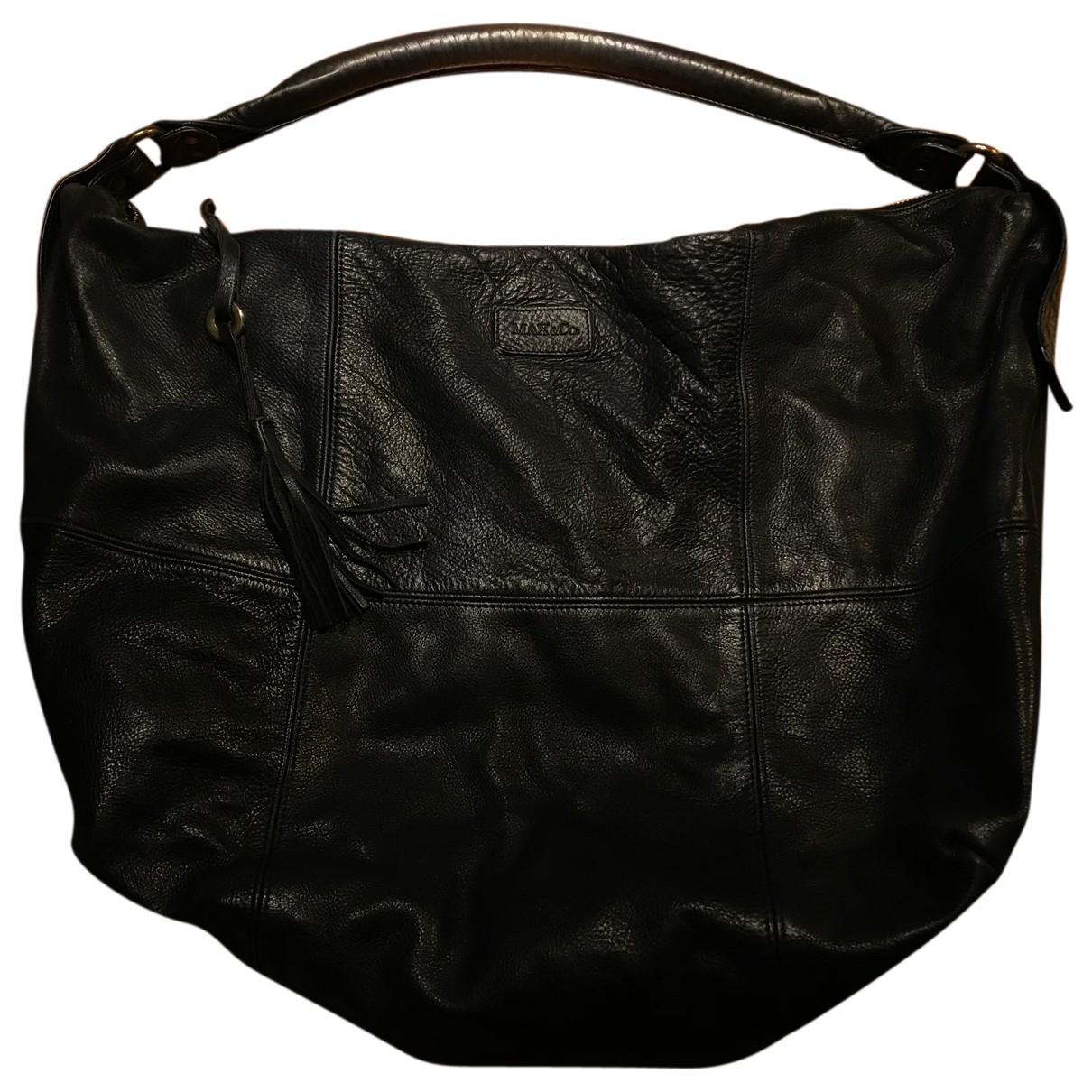 Max & Co N Black Leather handbag for Women N