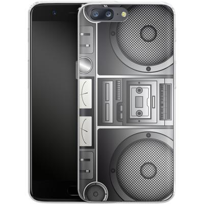 OnePlus 5 Silikon Handyhuelle - Beatbox von caseable Designs
