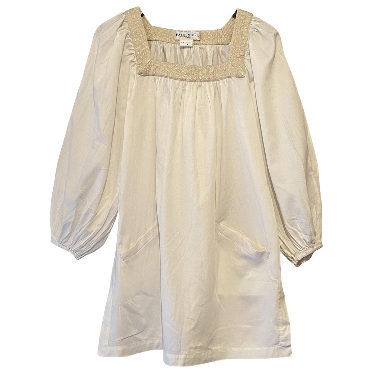 Paul & Joe - Robe   pour femme en coton - beige