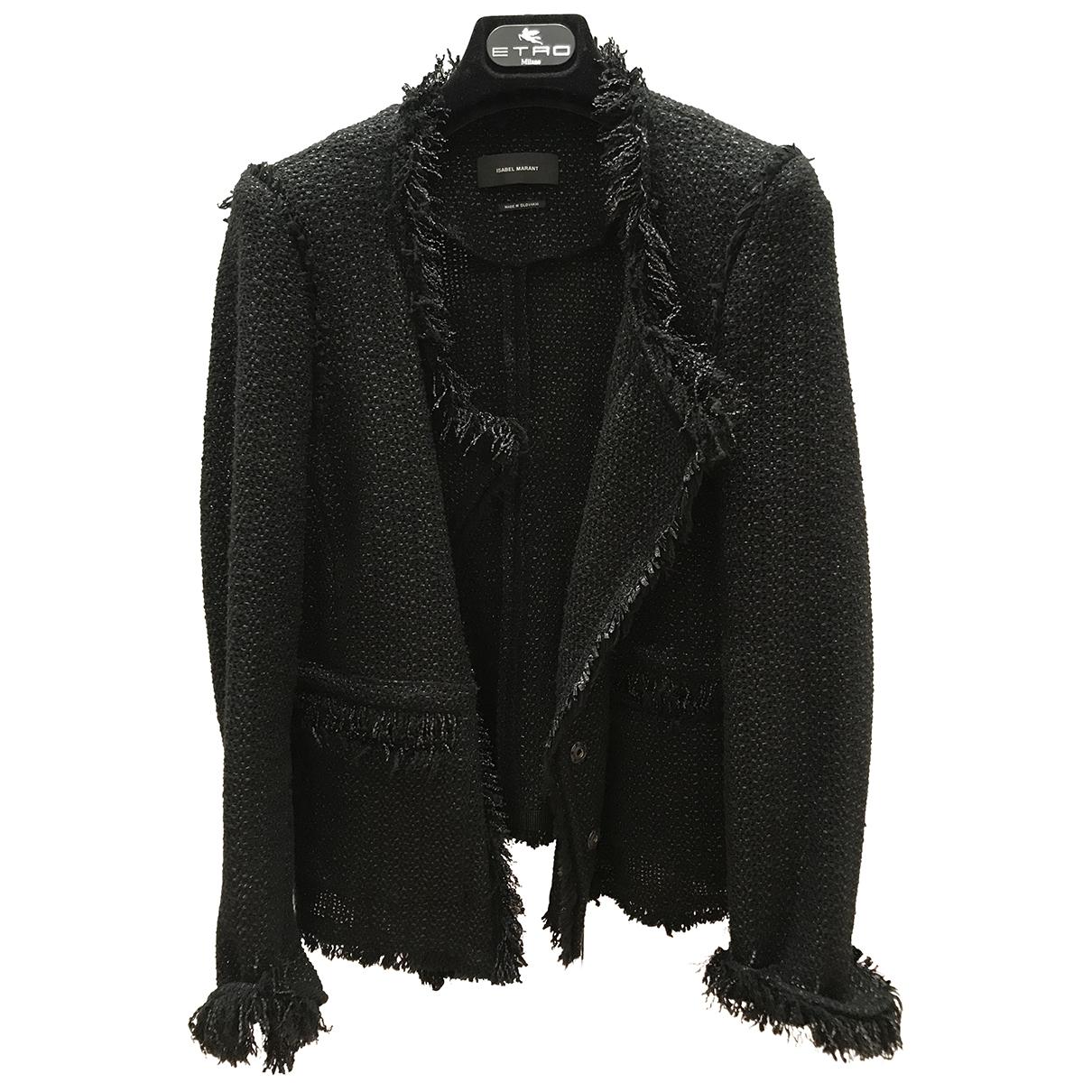 Isabel Marant \N Black Cotton jacket for Women 40 FR
