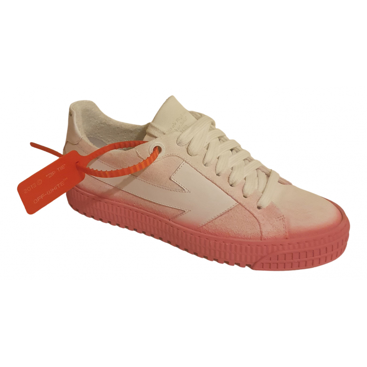 Off-white Arrow Pink Suede Trainers for Women 38 EU