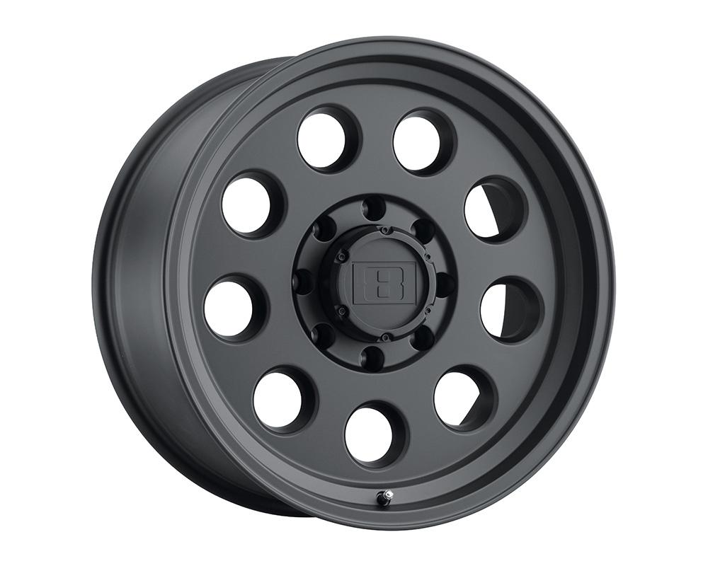Level 8 Hauler Wheel 15x8 6x139.7 -30mm Matte Black