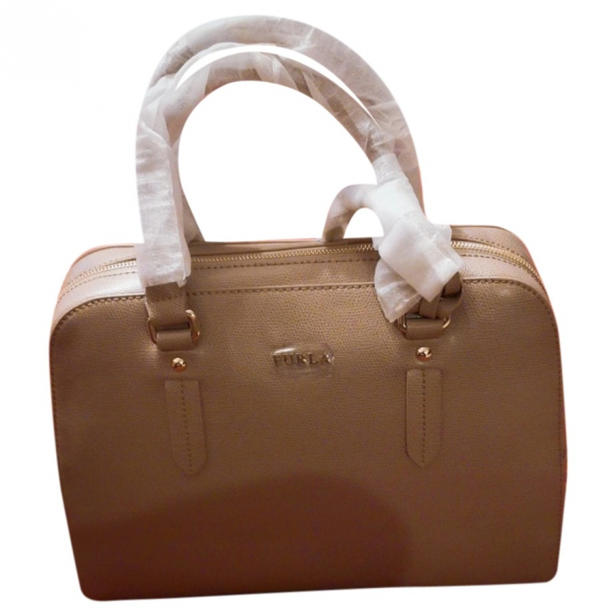 Furla \N Beige handbag for Women \N