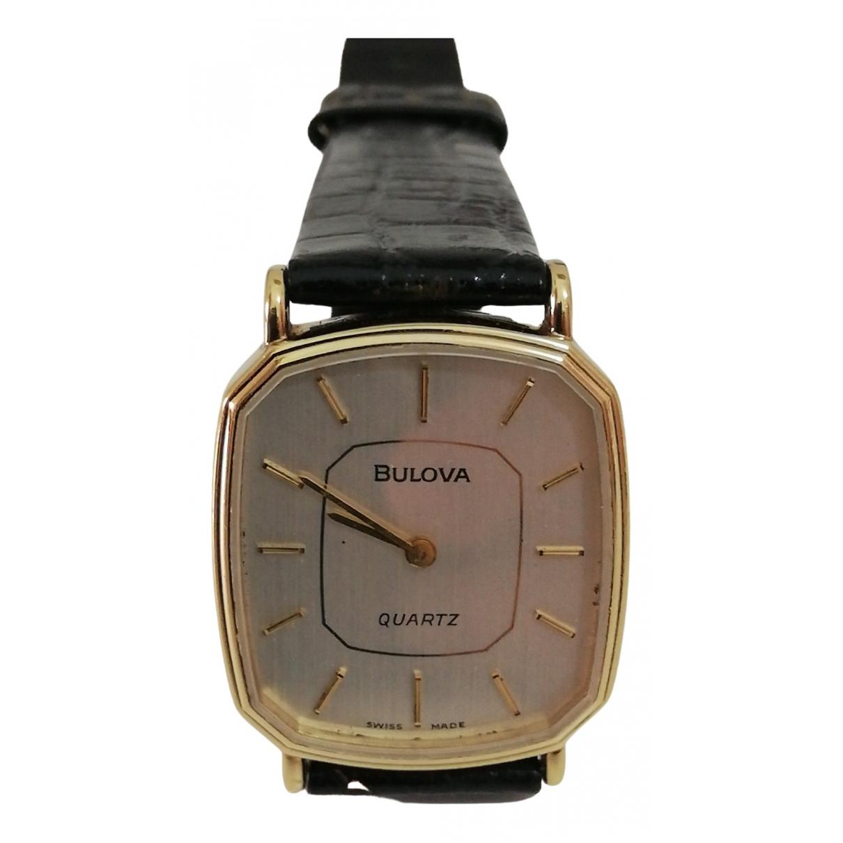 Bulova \N Uhr in  Gold Vergoldet