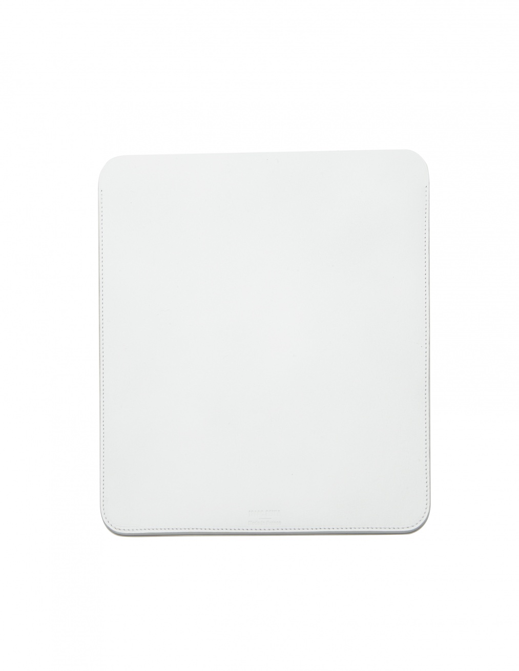 Isaac Reina White Leather iPad Case