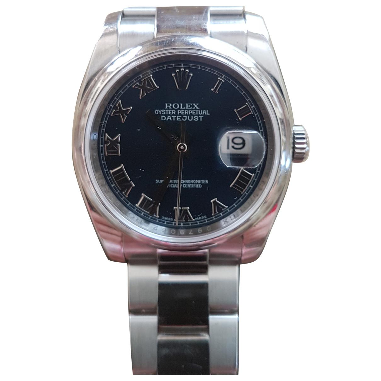 Rolex Datejust 31mm Uhr Blau