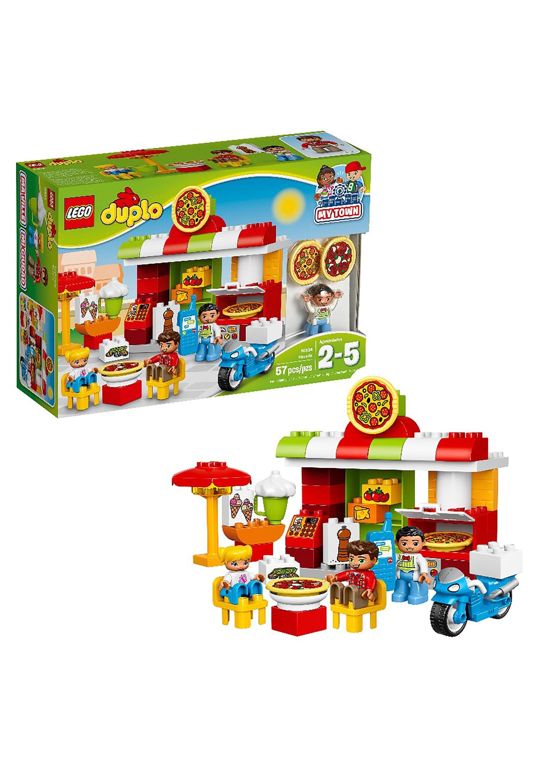 LEGO Duplo 57-Piece Set My Town Pizzeria