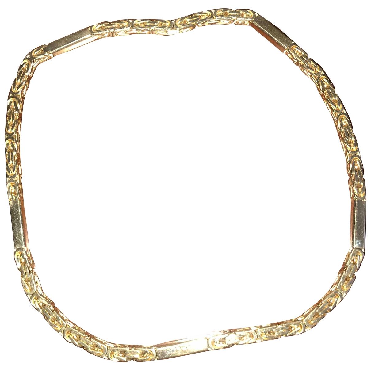 - Bijoux Chaines pour homme en or jaune - jaune