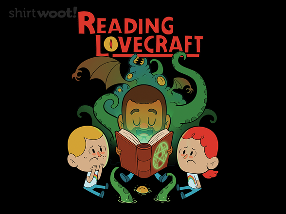 Reading Lovecraft T Shirt
