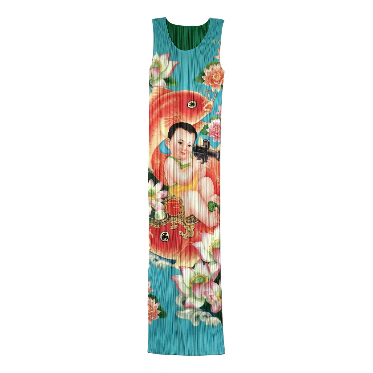 Maxi vestido Issey Miyake