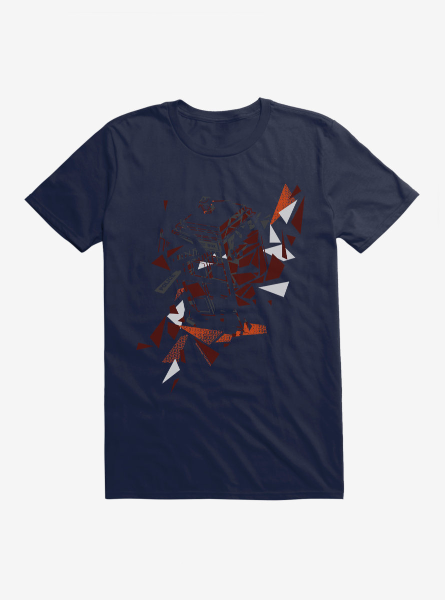 Doctor Who TARDIS In Pieces T-Shirt