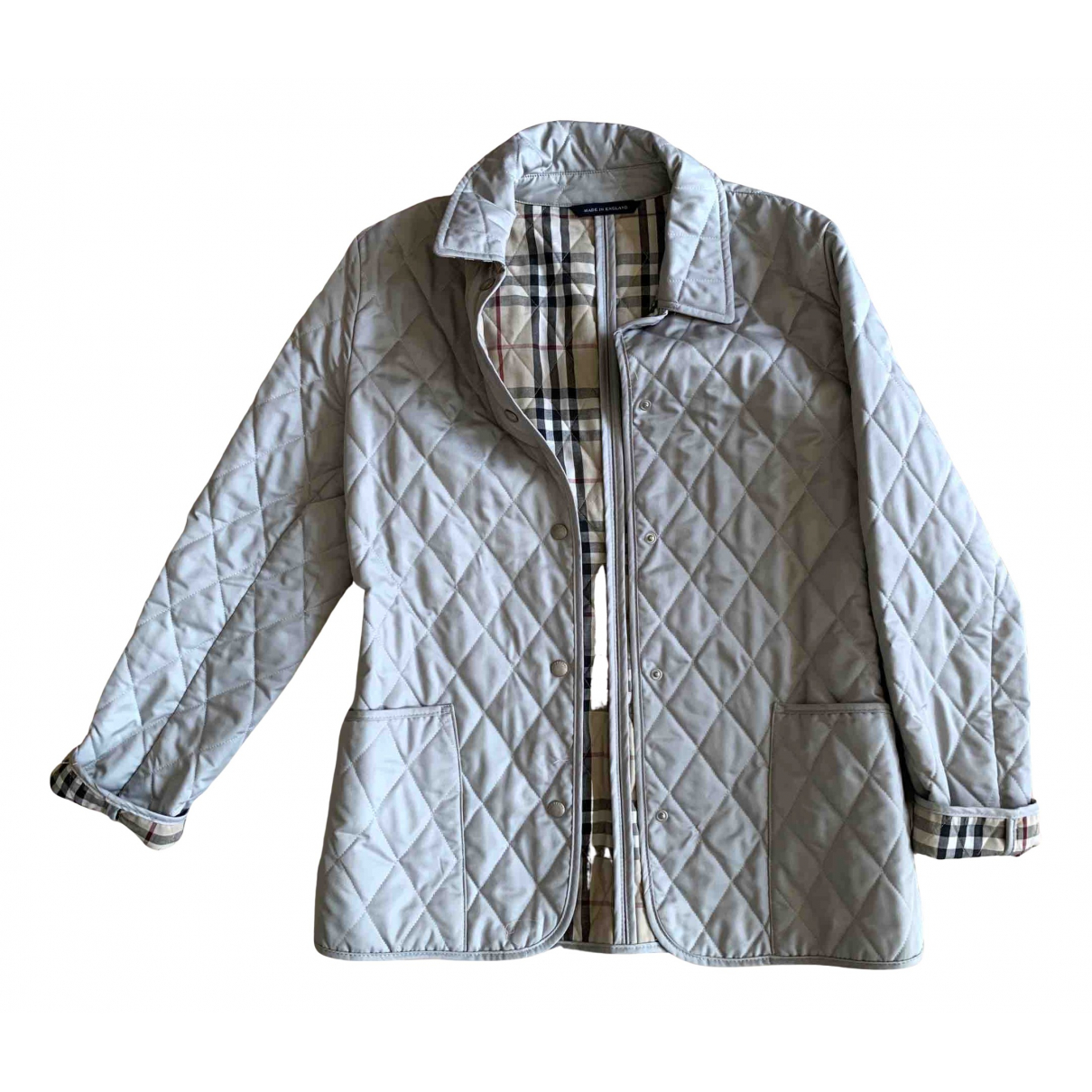 Burberry N Blue jacket for Women 10 UK