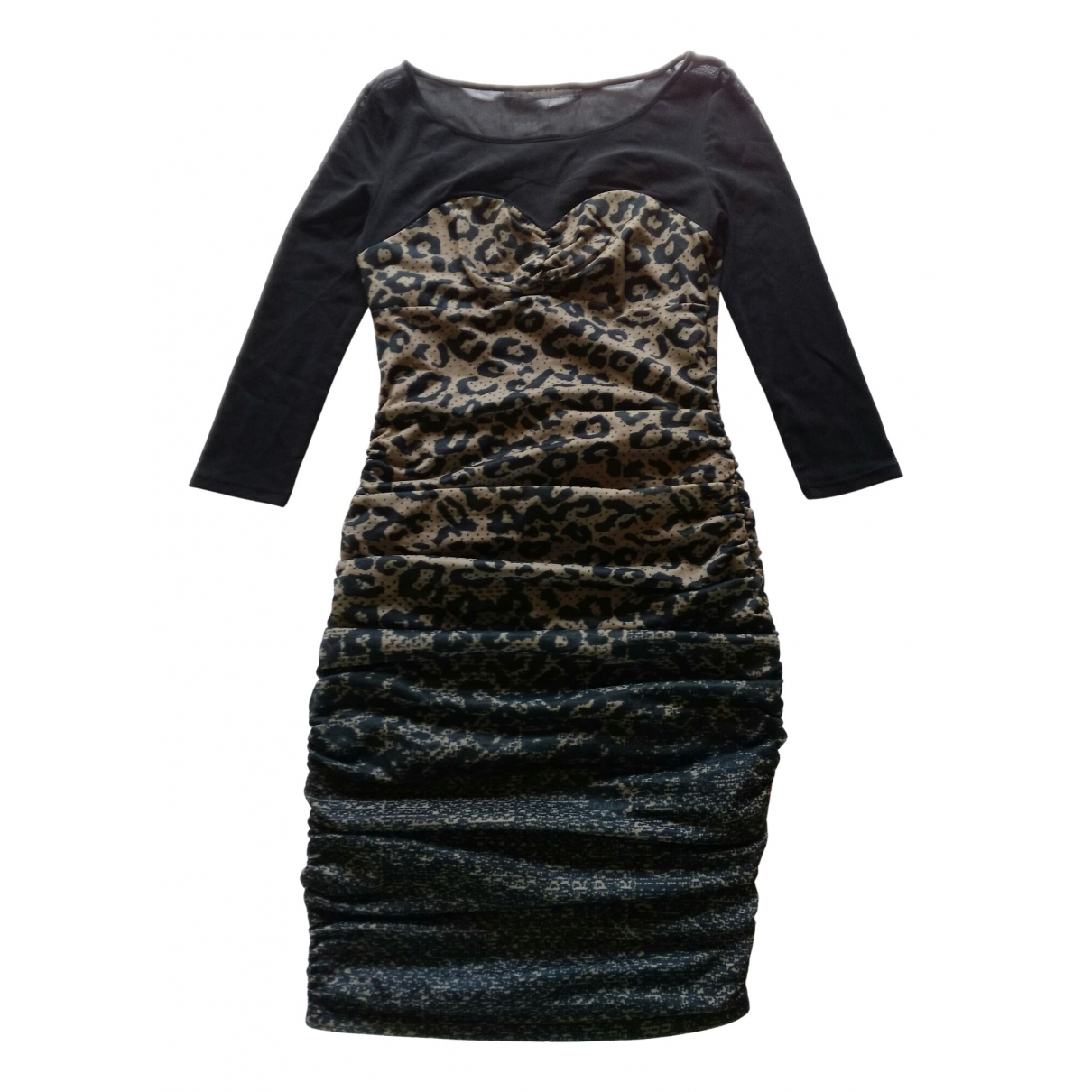 Guess \N Kleid in  Schwarz Polyester