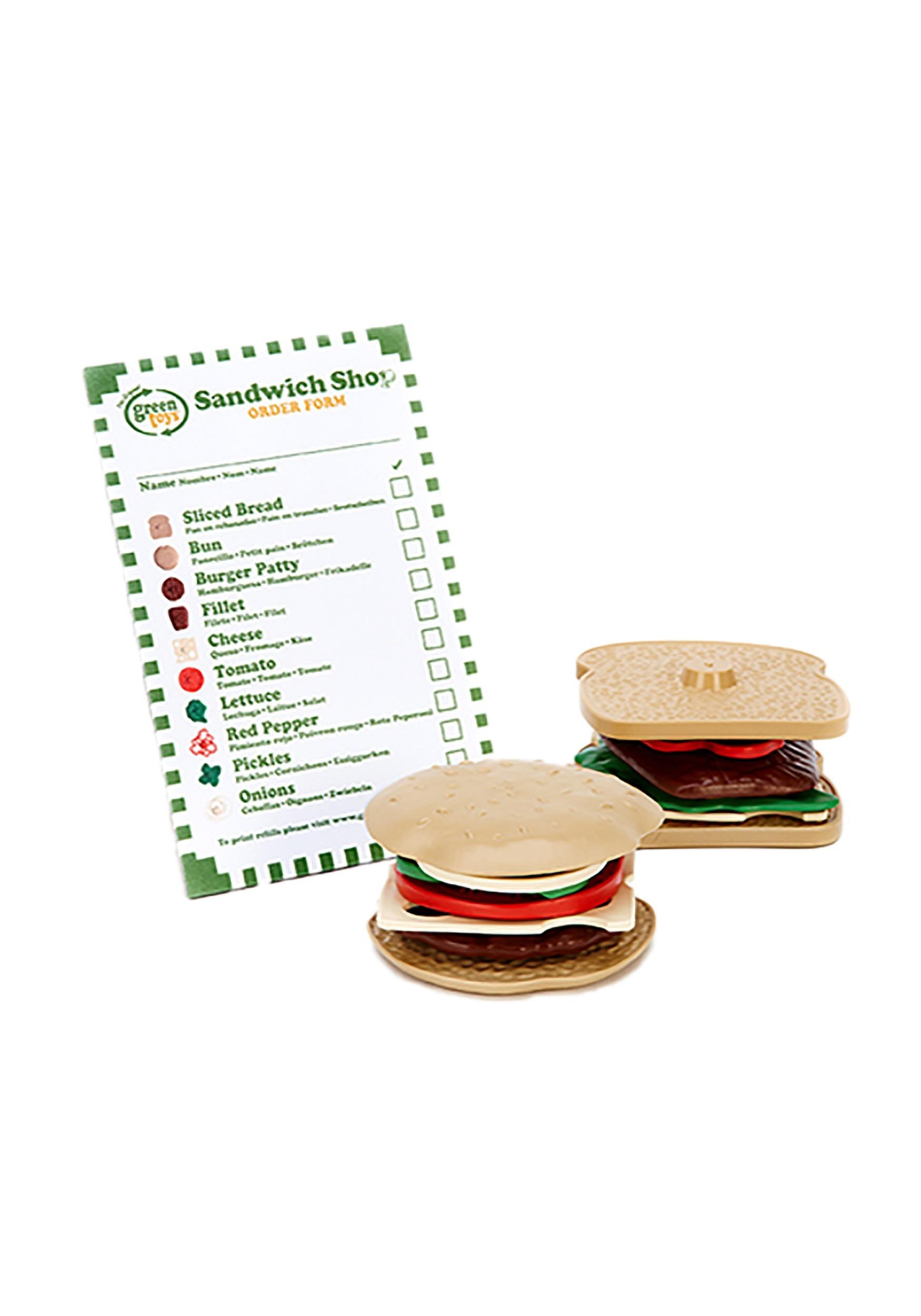 Sandwich Shop Green Toys