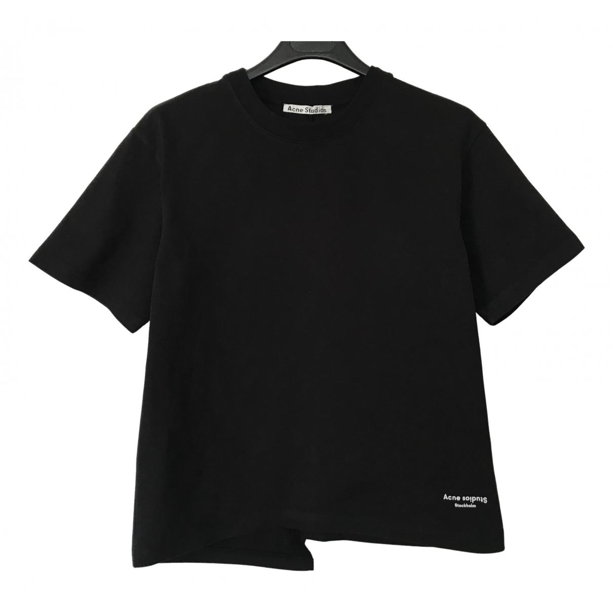 Acne Studios - Top   pour femme en coton - noir