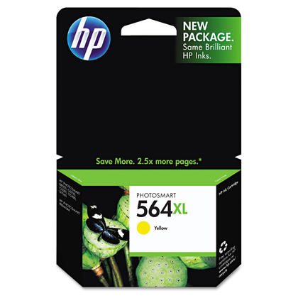 HP 564XL CB325WN Original Yellow Ink Cartridge High Yield