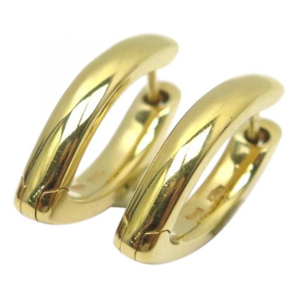 Pomellato - Boucles doreilles   pour femme en or jaune - dore