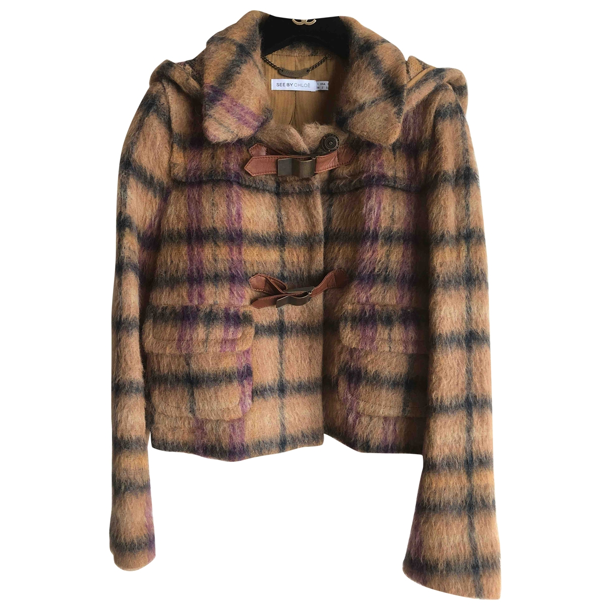 See By Chloé \N Brown Wool jacket for Women 6 UK