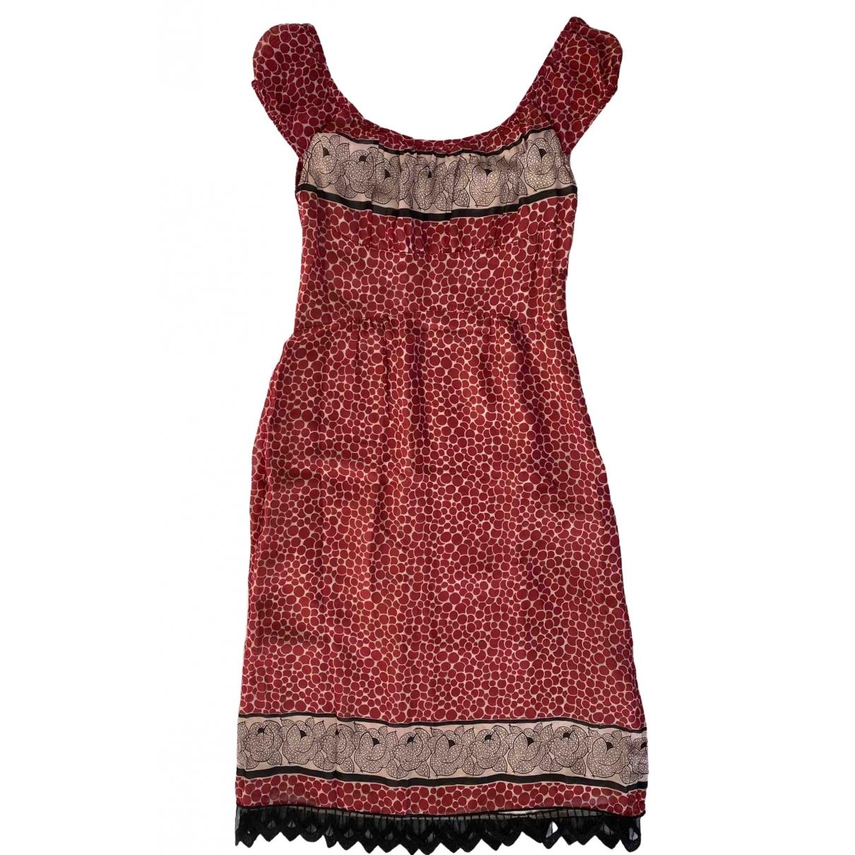 Anna Sui \N Multicolour Silk dress for Women 8 US