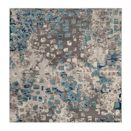 Safavieh Monaco Collection Doreen Abstract SquareArea Rug, One Size , Multiple Colors