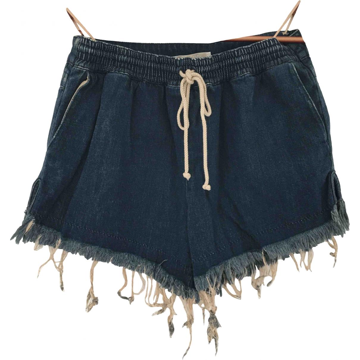Chloé \N Blue Denim - Jeans Shorts for Women 36 FR