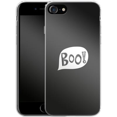 Apple iPhone 8 Silikon Handyhuelle - BOO! von caseable Designs