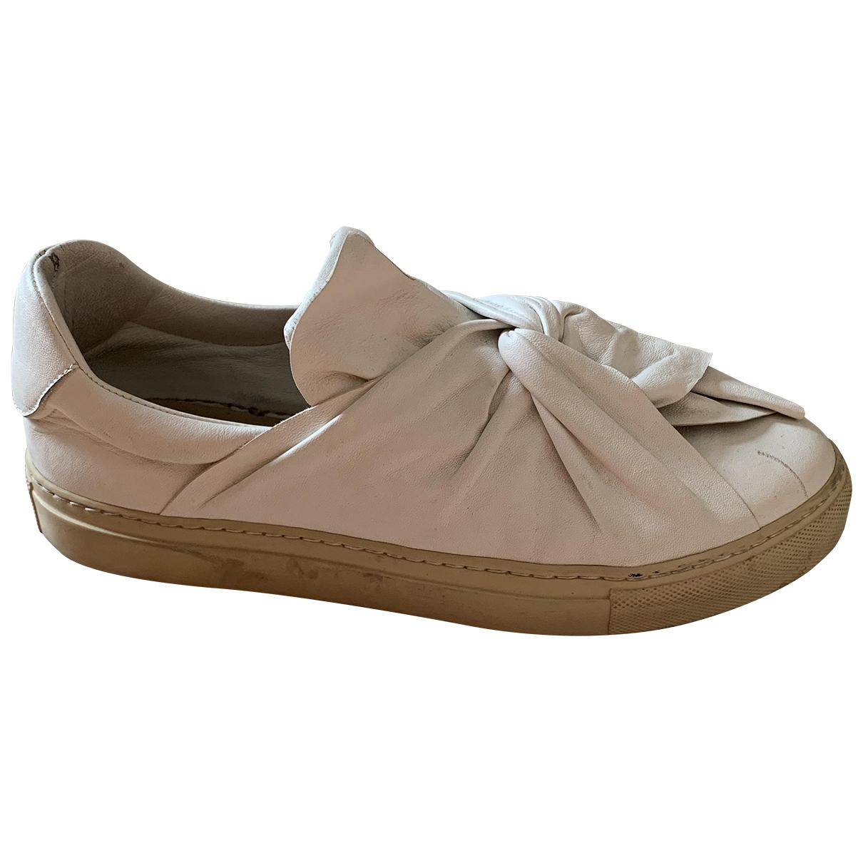 Ports 1961 \N Sneakers in  Weiss Leder